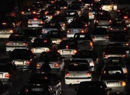 ترافیک سنگین در محور چالوس  و آزاد راه کرج _تهران