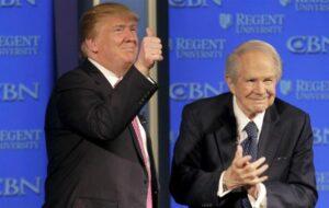 ادعای یکی از پرنفوذترین چهره های مذهبی امریکا / خدا گفته ترامپ پیروز است + فیلم