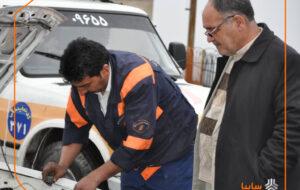امدادخودروهای متفرقه تهدیدی برای هموطنان