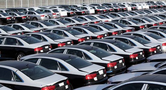 عرضه خودرو در بورس