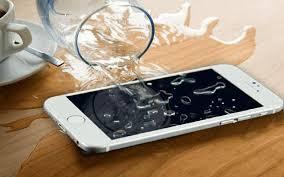 موبایل خیس شده