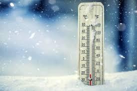 دمای زیر صفر درجه