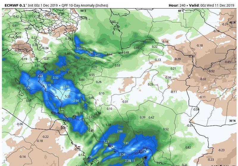هواشناسی کشور 2 بهمن 99