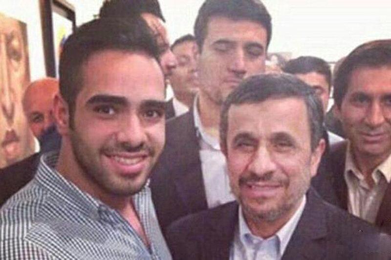 محمود احمدی نژاد درباره ساشا سبحانی
