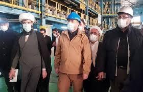 بازدید از شرکت های گروه فولاد