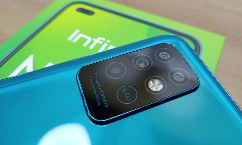 گوشی هوشمند اینفینیکس Note 8