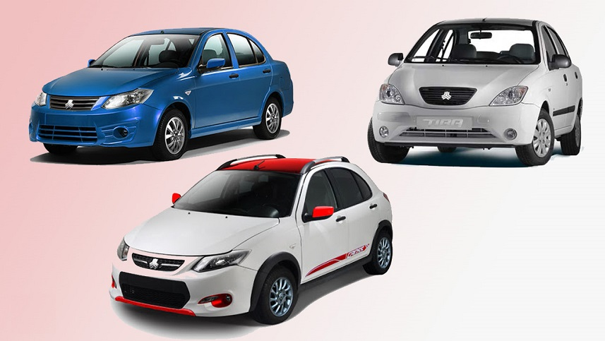 قیمت خودروهای سایپا امروز پنجشنبه 23 بهمن 99