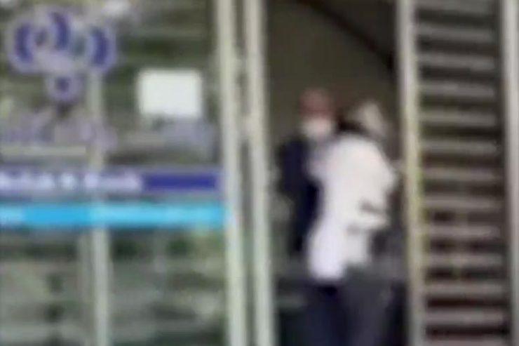 ضرب و شتم یک زن در بانک رفاه