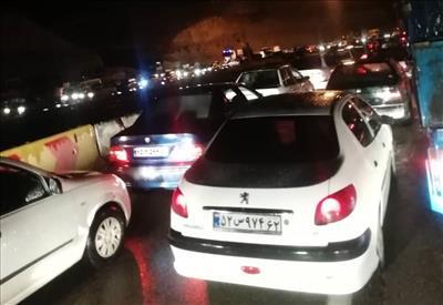 شب قدر ترافیک جاده دماوند