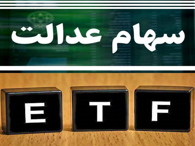 ارزش سهام عدالت 31 خرداد 1400 ارزش دارا یکم 31 خرداد 1400