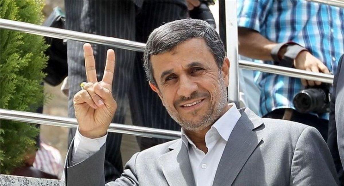 استقبال عجیب بازاریان از محمود احمدی نژاد
