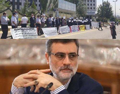 تشکر دردمندانه اساتید دانشگاه آزاد اسلامی از قاضی زاده هاشمی