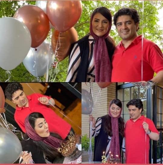 تصاویر جشن تولد همسر سامان احتشامی