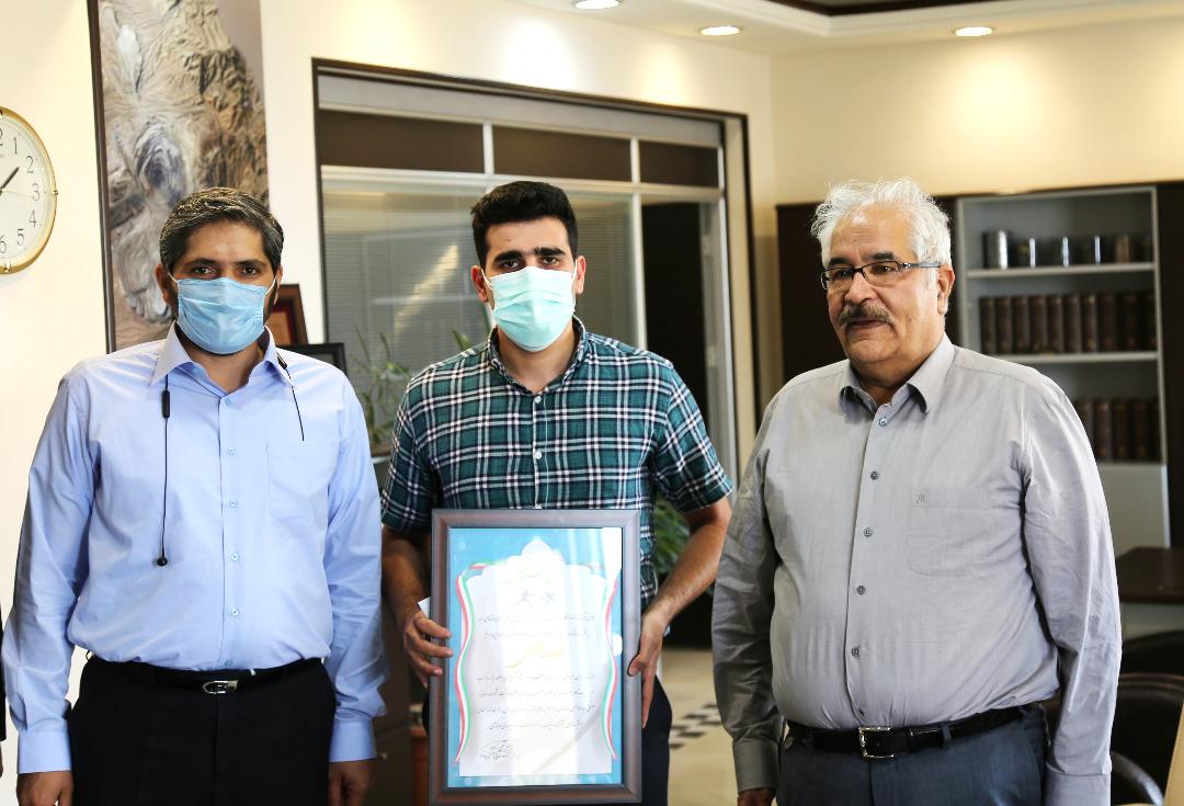بدرقه قهرمان شمشیر بازی ایران برای حضور در المپیک توکیو