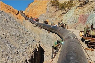 انتقال نفت از گوره به جاسک