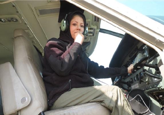 بیوگرافی صفیه فیروزی خلبان زن افغانستانی