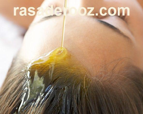 درمان مو با روغن