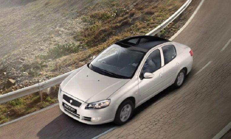 طرح فروش فوق العاده رانا پلاس با سقف شیشه ای از فردا ایران خودرو