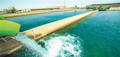 پروژه استحصال آب صنعتی از پساب شهری