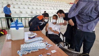واکسیناسیون کارکنان مجتمع معدنی چادرملو