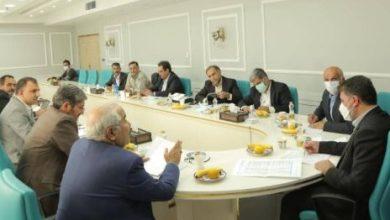 نشست رفع موانع توسعه چادرملو با حضور استاندار یزد